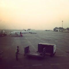 Photo taken at Sardar Vallabhbhai Patel International Airport by Neil S. on 10/23/2012