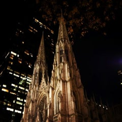 Photo taken at St. Patrick's Cathedral by Grace J. on 4/27/2013