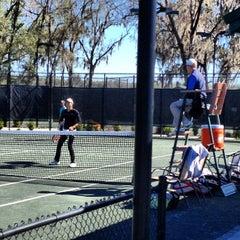 Photo taken at Jonesville Tennis Center by Kurt P. on 3/4/2013