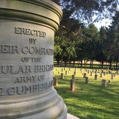 Photo taken at Stones River National Cemetery by Jon B. on 5/4/2015
