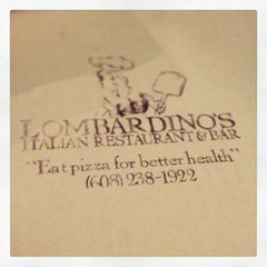 Photo taken at Lombardino's Restaurant by Jon B. on 2/16/2013