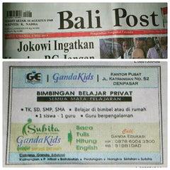 Photo taken at Bali Post by kak N. on 5/3/2015