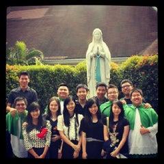 Photo taken at Gereja Katolik Santo Andreas by Vanessa V. on 7/15/2013