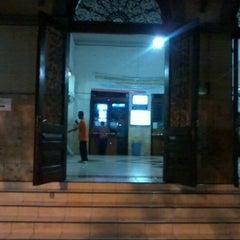 Photo taken at Stasiun Surabaya Gubeng by Isra G. on 10/19/2012