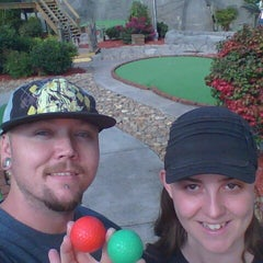Photo taken at Professor Hackers Lost Treasure Golf by John A. on 10/5/2012