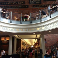 Photo taken at Quincy Market by Laurent R. on 7/13/2013