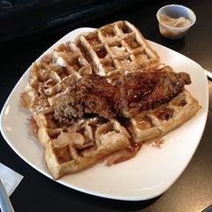 Photo taken at Dame's Chicken & Waffles by Erik J. on 7/6/2014