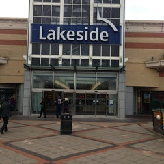 Photo taken at intu Lakeside Shopping Centre by Alan S. on 3/13/2013