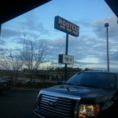 Photo taken at Hooters by Jericho C. on 12/8/2012