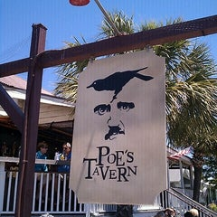 Photo taken at Poe's Tavern by michael s. on 5/14/2013