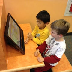 Photo taken at Redwood Shores Branch Library by Peter C. on 11/3/2012