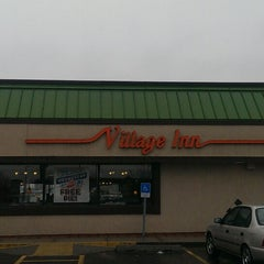 Photo taken at Village Inn by Mike N. on 1/30/2014