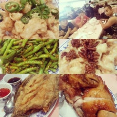 Photo taken at Seafood Town by Sweetanne D. on 10/9/2015