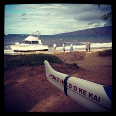 Photo taken at Maui Canoe Club by Suzanne F. on 3/9/2013