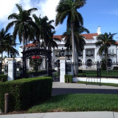 Photo taken at Flagler Museum by Valerie D. on 12/15/2012