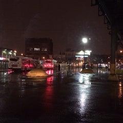 Photo taken at Williamsburg Bridge Bus Terminal by Justin B. on 1/11/2014