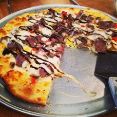 Photo taken at Blue Mountain Pizza by Anne M. on 12/28/2013