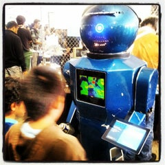 Photo taken at World Maker Faire by Mark B. on 9/29/2012