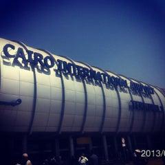 Photo taken at Cairo International Airport (CAI) by Takahiro I. on 3/23/2013
