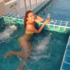Photo taken at The Rock Hua Hin Boutique Beach Resort and Spa by Woralan P. on 12/19/2014