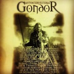 Photo taken at Cervecería Gondor by Desi G. on 10/21/2012