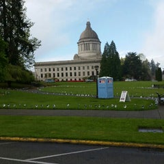 Photo taken at City of Olympia by Julia A. on 4/11/2015