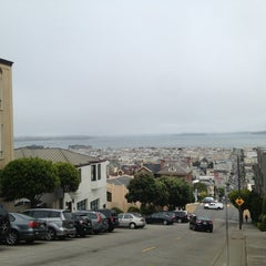 Photo taken at Fillmore Stairs by Adam R. on 5/23/2014