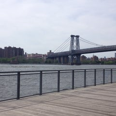Photo taken at East River Ferry - Schaefer Landing/S. Williamsburg Terminal by Nick F. on 5/26/2014