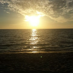 Photo taken at Turner Beach by John B. on 10/30/2014