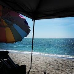 Photo taken at Turner Beach by John B. on 4/5/2015
