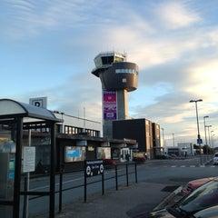 Photo taken at Kristiansand Lufthavn, Kjevik (KRS) by Frans-Arne S. on 9/1/2013