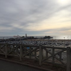 Photo taken at Drive in at the Santa Monica Pier by Mohammad T. on 12/7/2014