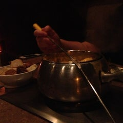 Photo taken at The Melting Pot by hannah h. on 1/3/2013