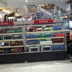 Photo taken at Gramedia by Tasha S. on 4/28/2013