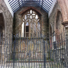 Photo taken at Holyrood Church (remains Of) by Keith M. on 5/5/2013