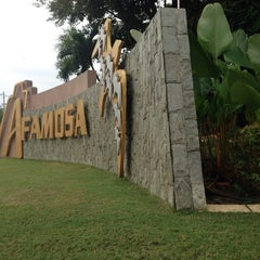 Photo taken at A'Famosa Main Entrance by Farrah A. on 7/29/2014