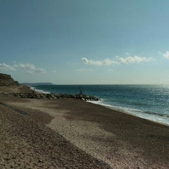 Photo taken at Hengistbury Head by Juzza07 on 9/27/2015