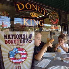 Photo taken at Donut King by Andrew B. on 6/5/2015