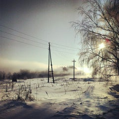 Photo taken at Пахра by Ivan M. on 3/5/2013
