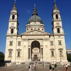 Photo taken at Szent István Bazilika by 🇷🇺 Александр Б. on 7/21/2013