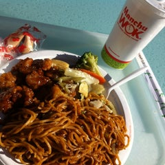 Photo taken at Manchu Wok by Sally M. on 12/4/2013