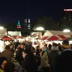 Photo taken at Union Square Holiday Market by Bill B. on 12/23/2012