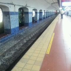 Photo taken at Estación Catedral [Línea D] by Clau A. on 7/13/2013