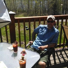 Photo taken at Lucky Moose Bar and Grill by Terri M. on 5/25/2014