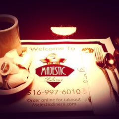 Photo taken at Majestic Diner by Stephen R. on 1/6/2014