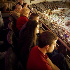 Photo taken at Allen County War Memorial Coliseum by Clinton F. on 1/3/2013