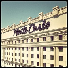 Photo taken at Monte Carlo Resort and Casino by Claire 🐻 O. on 4/12/2013