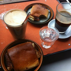 Photo taken at Kaffeslabberas'en by Line S. on 10/6/2012