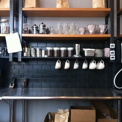 Photo taken at Big Shoulders Coffee by Carolina Mariana R. on 1/31/2013