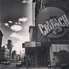 Photo taken at Crunch by Graeme F. on 3/3/2013